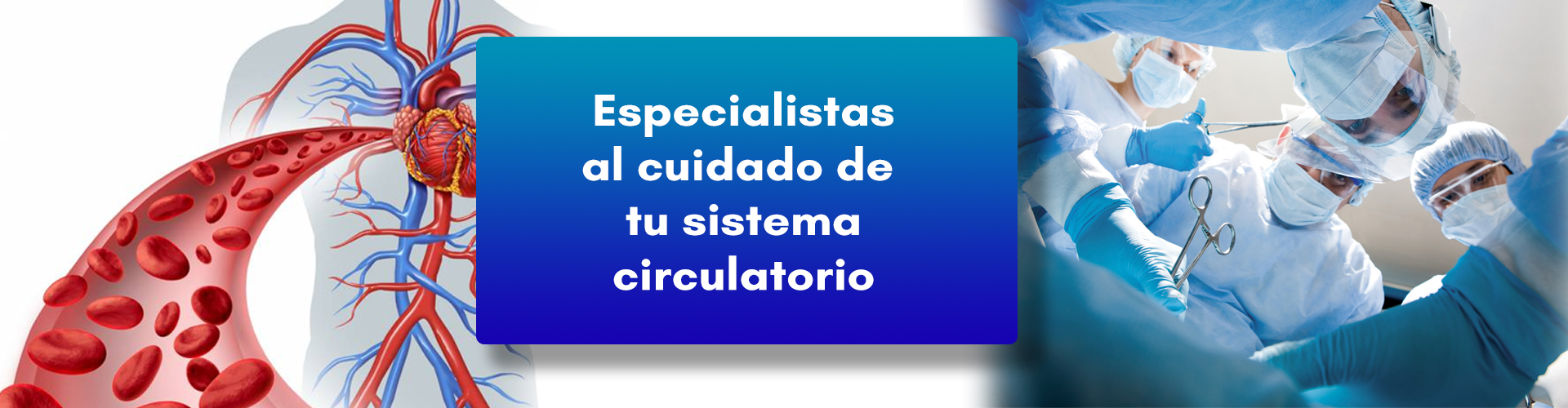 Banner Cirugía Vascular